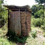 The Water Project: Ematetie Community, Chibusia Spring -  Sample Latrine