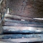 The Water Project: Asimuli Community, John Omusembi Spring -  Dangerous State Of Latrine Floor