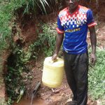 The Water Project: Chepnonochi Community -  Duncun Mulaka At The Water Source