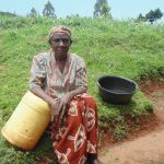 The Water Project: Chepnonochi Community, Chepnonochi Spring -  Jescah Isadia A Water User