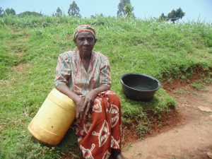 The Water Project:  Jescah Isadia A Water User