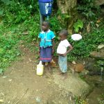 The Water Project: Shitoto Community -  Children At Spring