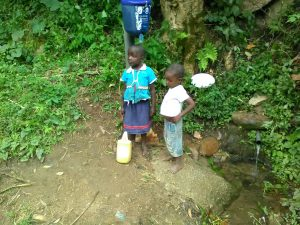 The Water Project:  Children At Spring