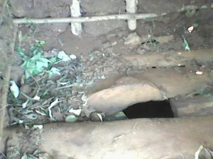 The Water Project:  Latrine Floor