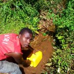 The Water Project: Upper Visiru Community, Wambosani Spring -  Water Source