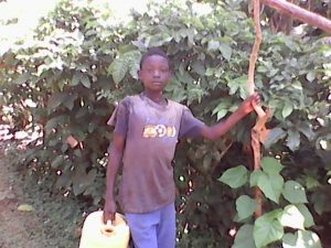 The Water Project:  Young Boy With Jerrycan