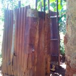 The Water Project: Upper Visiru Community, Wambosani Spring -  Bathroom