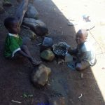 The Water Project: Masera Community, Murumba Spring -  Children Playing