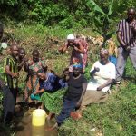 The Water Project: Masera Community, Murumba Spring -  Community Members Excited Of The Prospect Of Their Spring Being Protected