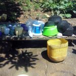 The Water Project: Masera Community, Murumba Spring -  Dishrack