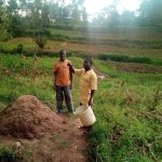 The Water Project: Elutali Community -  Farmers On Their Plots