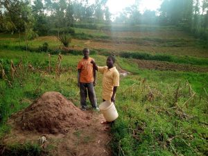 The Water Project:  Farmers On Their Plots