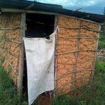 The Water Project: Elutali Community, Obati Spring -  Latrine