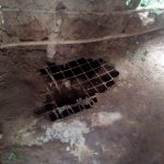 The Water Project: Elutali Community, Obati Spring -  Poor State Of Latrine Floors
