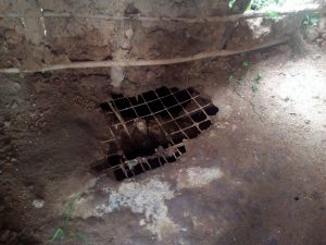 The Water Project:  Poor State Of Latrine Floors