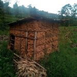 The Water Project: Elutali Community, Obati Spring -  Sample Latrine