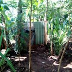 The Water Project: Irumbi Community A -  A Latrine In This Community