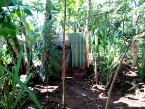The Water Project:  A Latrine In This Community