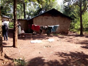 The Water Project:  Clothes Drying On Clothesline