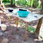 The Water Project: Irumbi Community A -  Sample Dishrack