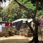 The Water Project: Rotifunk Baptist Primary School -  Cloth Line