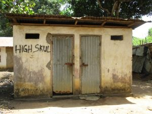 The Water Project:  Community Latrine And Bathshelter