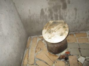 The Water Project:  Inside Community Latrine