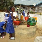 The Water Project: Rotifunk Baptist Primary School -  Main Water Source