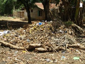 The Water Project:  Rubbish Pit