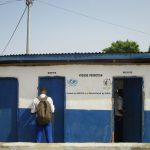 The Water Project: Rotifunk Baptist Primary School -  School Latrine