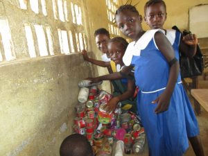 The Water Project:  Student In The Class Room