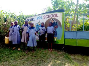 The Water Project:  School Entrance