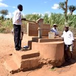 The Water Project: Karuli Community E -  Previous Water System