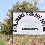 The Water Project: Kyulungwa Primary School -  School Sign