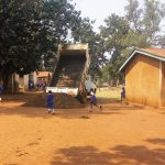 The Water Project: Mumias Complex Primary School -  A Truck Delivering Materials