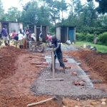 The Water Project: Esibeye Primary School -  Latrine Construction