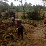 The Water Project: Muyere Secondary School -  Excavating To Make Level Ground