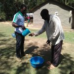 The Water Project: Bukhunyilu Community -  Hand Washing Training