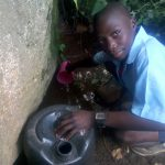 The Water Project: Shiru Primary School -  Fetching Dirty Water
