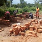 The Water Project: Esibeye Primary School -  Latrine Construction