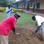 The Water Project: Lihanda Secondary School -  Construction