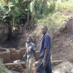 The Water Project: Shitungu Community E -  Spring Construction