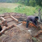 The Water Project: Shibuli Community, Khamala Spring -  Spring Construction