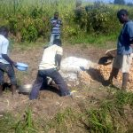 The Water Project: Musango Community, Dawi Spring -  Spring Excavation