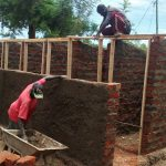 The Water Project: Shamalago Primary School -  Latrine Construction