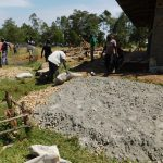 The Water Project: Muyere Secondary School -  Constructing The Tank Foundation