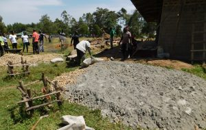 The Water Project:  Constructing The Tank Foundation