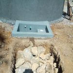 The Water Project: Shanjero Secondary School -  Soak Pit