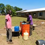 The Water Project: Bushili Secondary School -  Construction Materials