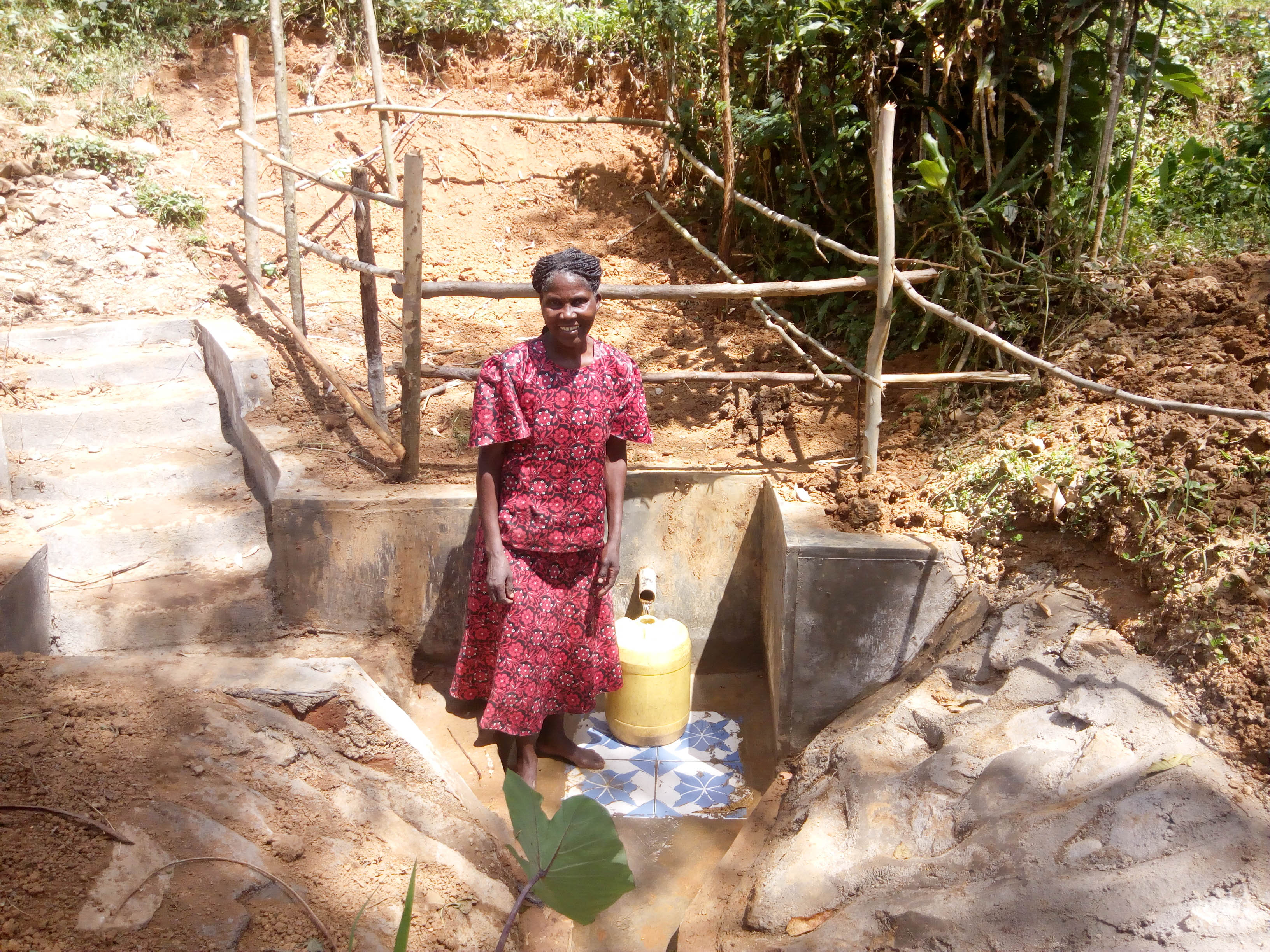 The Water Project : 12-kenya18086-clean-water